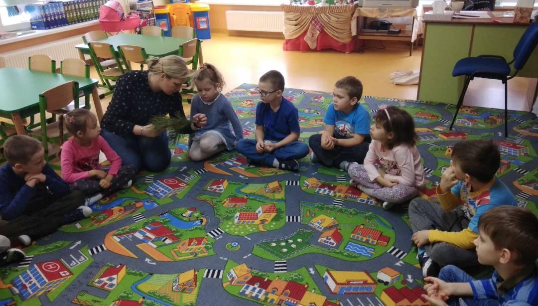 Leśnik Z Wizytą U Przedszkolaków